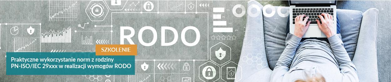 Praktyczne wykorzystanie norm w realizacji wymogów RODO