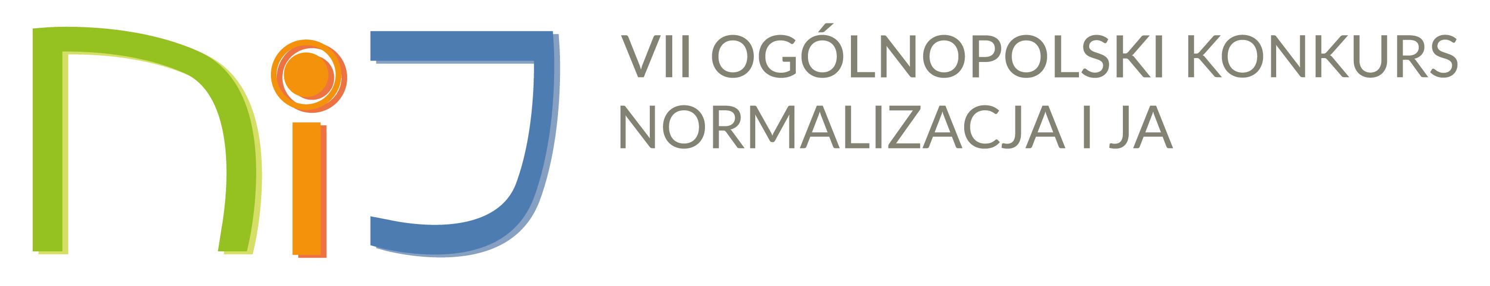 Logo konkursu Normalizacja i Ja