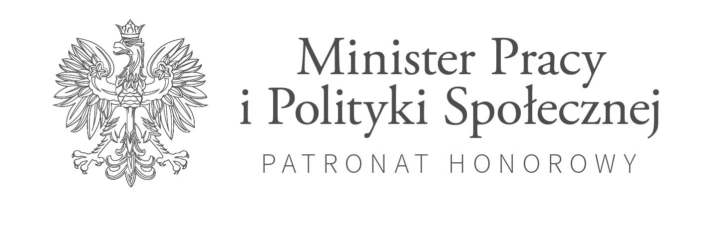 Logo MPiPS z orłem