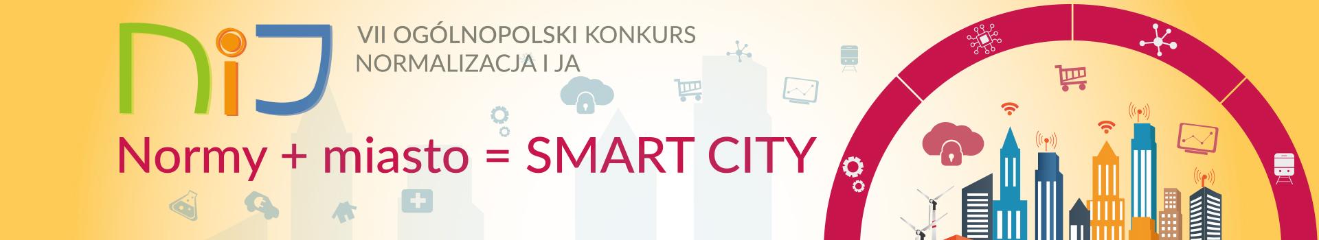 "VII Ogólnopolski Konkurs ""Normalizacja i ja"" tym razem SMART CITY"